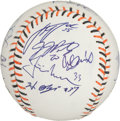 Baseball Collectibles:Balls, 2007 American League All Stars Team Signed Baseball (19Signatures). ...