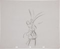 animation art:Production Drawing, Roger Rabbit Character Sketch Original Art (Disney,1981).... (Total: 4 Items)