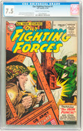 Golden Age (1938-1955):War, Our Fighting Forces #5 (DC, 1955) CGC VF- 7.5 Cream to off-whitepages....