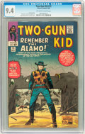 Silver Age (1956-1969):Western, Two-Gun Kid #75 (Marvel, 1965) CGC NM 9.4 Off-white to whitepages....