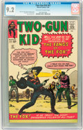 Silver Age (1956-1969):Western, Two-Gun Kid #67 (Marvel, 1964) CGC NM- 9.2 Off-white to whitepages....