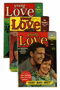 Golden Age (1938-1955):Romance, Young Love Group (Prize, 1950-61) Condition: Average VG/FN....(Total: 19 Comic Books)