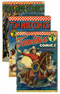Golden Age (1938-1955):Western, Tom Mix Ralston Purina Giveaways #1-12 Group (Ralston-Purina Co.,1940-42).... (Total: 17 Comic Books)