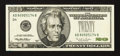 Error Notes:Obstruction Errors, Fr. 2083-D $20 1996 Federal Reserve Note. Choice About Uncirculated.. ...