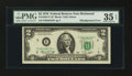 Error Notes:Shifted Third Printing, Fr. 1935-E* $2 1976 Federal Reserve Star Note. PMG Choice Very Fine 35 EPQ.. ...