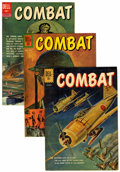 Silver Age (1956-1969):War, Combat File Copies Group (Dell, 1961-73) Condition: Average VF/NM.... (Total: 39 Comic Books)