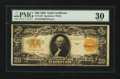 Large Size:Gold Certificates, Fr. 1187 $20 1922 Gold Certificate. PMG Very Fine 30.. ...