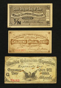 Miscellaneous:Other, World's Columbian Exposition 1893 Special Tickets.. ... (Total: 3items)