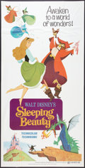 "Movie Posters:Animated, Sleeping Beauty (Buena Vista, R-1970). Three Sheet (41"" X 81"").Animated.. ..."