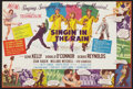 "Movie Posters:Musical, Singin' in the Rain (MGM, 1952). Herald (8"" X 12""). Musical.. ..."
