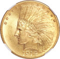 Indian Eagles, 1914 $10 MS64 NGC. CAC....
