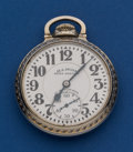 Timepieces:Pocket (post 1900), Illinois 21 Jewel, 60 Hour Grade 161 Bunn Special Pocket Watch. ...