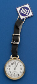 Timepieces:Pocket (post 1900), Hamilton 21 Jewel 992 B With Fob. ...