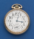 Timepieces:Pocket (post 1900), Waltham 21 Jewel 16 Size Premier Pocket Watch. ...