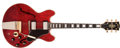 Musical Instruments:Electric Guitars, 1969 Gibson ES-355 Cherry Red Semi-Hollow Body Electric Guitar,#940632....