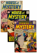 Silver Age (1956-1969):Horror, House of Mystery Group (DC, 1957-63).... (Total: 10 Comic Books)