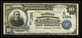National Bank Notes:Maryland, Baltimore, MD - $10 1902 Date Back Fr. 616 The Citizens NB Ch. #(E)1384. ...