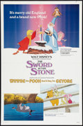 """Movie Posters:Animated, The Sword in the Stone Lot (Buena Vista, R-1983). One Sheets (2) (27"""" X 41""""). Animated.. ... (Total: 2 Items)"""