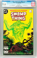 Modern Age (1980-Present):Horror, Saga of the Swamp Thing #37 (DC, 1985) CGC NM+ 9.6 White pages....