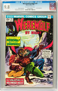 Bronze Age (1970-1979):Horror, Werewolf by Night #19 (Marvel, 1974) CGC NM/MT 9.8 Off-white towhite pages....