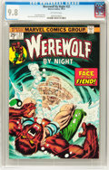 Bronze Age (1970-1979):Horror, Werewolf by Night #22 (Marvel, 1974) CGC NM/MT 9.8 Off-whitepages....