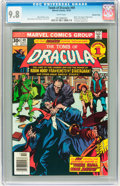 Bronze Age (1970-1979):Horror, Tomb of Dracula #49 Western Penn pedigree (Marvel, 1976) CGC NM/MT9.8 White pages....
