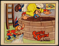 "Movie Posters:Animation, Simple Simon (Celebrity Productions, 1935). Lobby Card (11"" X 14""). Animation.. ..."