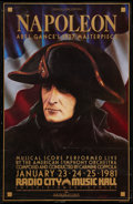 """Movie Posters:War, Napoleon (Film Society of Lincoln Center, R-1981). Poster (24.75"""" X38.25""""). War.. ..."""