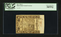Colonial Notes:Rhode Island, Rhode Island May 1786 6s PCGS Choice About New 58PPQ.. ...