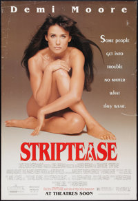 """Striptease Lot (Columbia, 1996). One Sheets (2) (27"""" X 40""""). Comedy. ... (Total: 2 Items)"""
