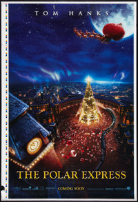 """The Polar Express (Warner Brothers, 2004). One Sheet (27"""" X 41"""") Printer's Proof Advance. Animated"""