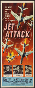 "Movie Posters:War, Jet Attack (American International, 1958). Insert (14"" X 36"").War.. ..."