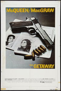 """The Getaway (National General, 1972). One Sheet (27"""" X 41""""). Action"""