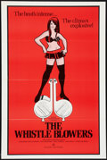 """Movie Posters:Adult, The Whistle Blowers (Dielst, 1973). One Sheet (27"""" X 41""""). Adult....."""