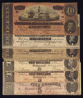 Confederate Notes:1864 Issues, 1864 Issues.. ... (Total: 6 notes)