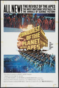 """Movie Posters:Science Fiction, Conquest of the Planet of the Apes (20th Century Fox, 1972). OneSheet (27"""" X 41"""") Style B. Science Fiction.. ..."""