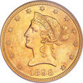 Liberty Eagles, 1898 $10 MS64 PCGS....