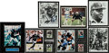 Football Collectibles:Photos, Raiders Stars Signed Photographs Lot of 7....