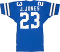 Football Collectibles:Uniforms, Early 1980's James Jones Game Worn Jersey....