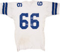 Football Collectibles:Uniforms, 1972 George Andrie Game Worn Jersey....