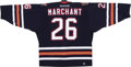 Hockey Collectibles:Uniforms, 2001-02 Todd Marchant Game Worn Jersey....