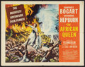 "Movie Posters:Adventure, The African Queen (United Artists, 1952). Half Sheet (22"" X 28"")Style A. Adventure.. ..."