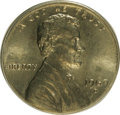 Errors: , 1969-D 1C Lincoln Cent--On 10C Planchet--MS64 ANACS....