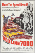 """Movie Posters:Sports, Red Line 7000 Lot (Paramount, 1965). One Sheets (2) (27"""" X 41"""") and Pressbook (11"""" X 17""""). Sports.. ... (Total: 3 Items)"""