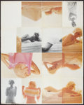 """Movie Posters:Miscellaneous, Marilyn Monroe (William Morrow and Company, 1982). Uncut Proof Sheet (41"""" X 52""""). Miscellaneous.. ..."""