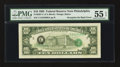 Error Notes:Third Printing on Reverse, Fr. 2027-C $10 1985 Federal Reserve Note. PMG About Uncirculated 55 EPQ.. ...