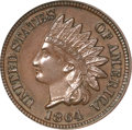 Patterns, 1864 1C One Cent, Judd-356A, Pollock-427, Low R.6, PR64 Brown PCGS. CAC....