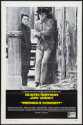 "Movie Posters:Academy Award Winners, Midnight Cowboy (United Artists, 1969). International One Sheet(27"" X 41"") and Lobby Cards (3) (11"" X 14""). Academy Award W...(Total: 4 Items)"