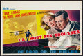 """Movie Posters:Hitchcock, North by Northwest (MGM, 1959). Belgian (14"""" X 22""""). Hitchcock.. ..."""