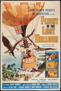 "Movie Posters:Adventure, Flight of the Lost Balloon (Woolner Brothers, 1961). Poster (40"" X60""). Adventure.. ..."